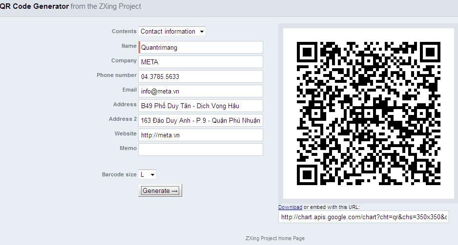 Các cách tạo mã QR trực tuyến - Ảnh minh hoạ 2