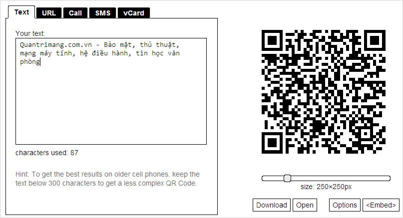 4 cách tạo mã QR trực tuyến