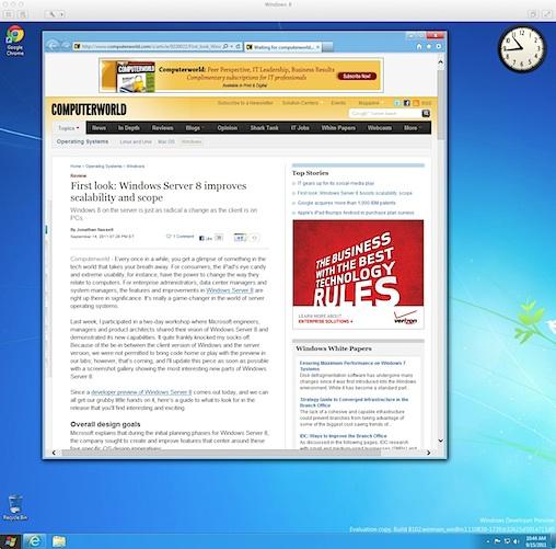 Bắt chước Apple, Microsoft loại bỏ Flash khỏi Metro IE10 trong Windows 8
