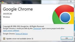 Tổng quan về Google Chrome 14