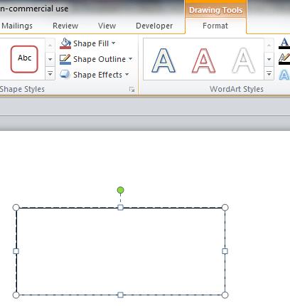Hướng dẫn sử dụng Text Box trong Word 2010