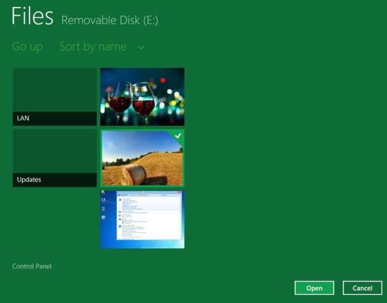 Cài đặt mật khẩu bằng hình ảnh trong Windows 8