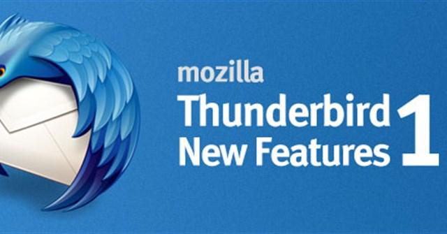 Mozilla Thunderbird 15: Những tính năng mới