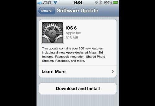 Hình ảnh Cách tải, cài đặt iOS 6 trên iPhone, iPad, iPod Touch số 4