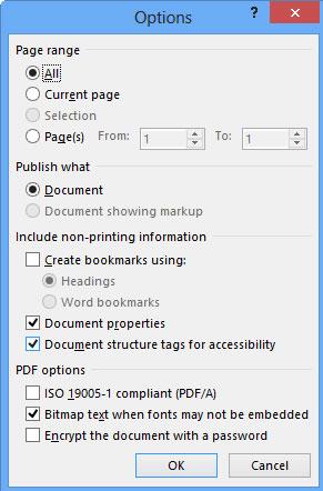 Cách edit file PDF bằng Word 2013