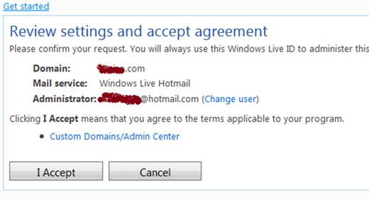 Dùng dịch vụ Outlook.com cấu hình Email mang tên miền riêng