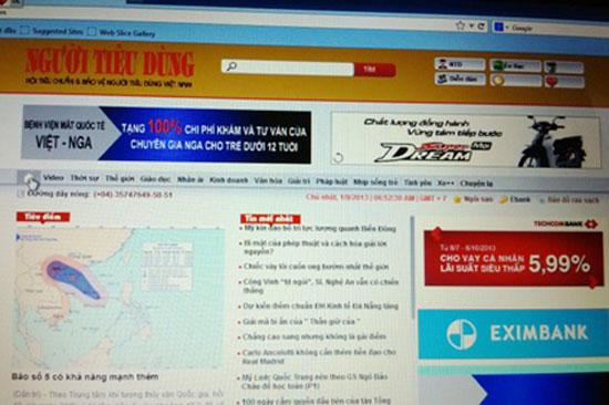 Thêm một tờ báo điện tử Việt Nam bị hacker tấn công