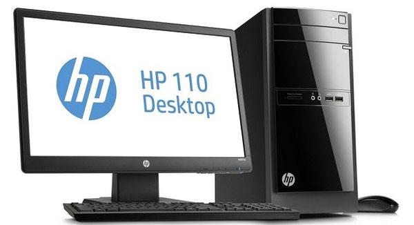 Máy tính để bàn HP tiêu thụ điện tương đương laptop