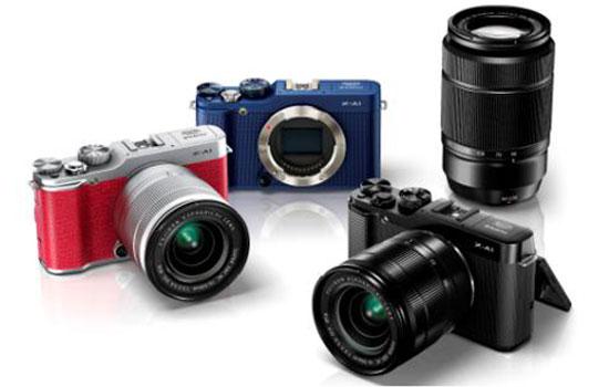 Máy ảnh mirrorless giá rẻ, nhiều màu sắc của Fujifilm lộ diện