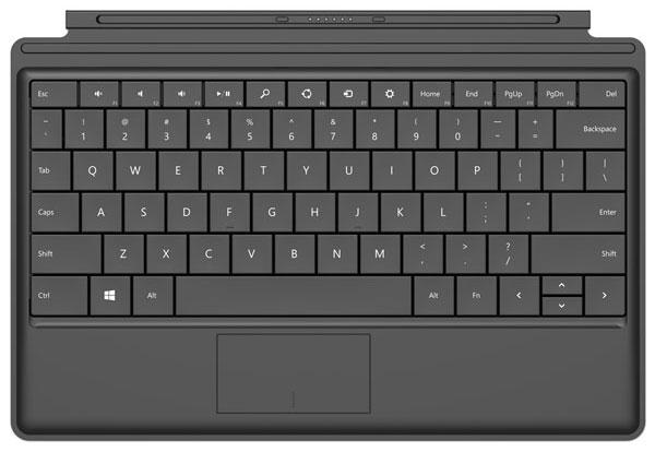 Bàn phím của Surface 2 sẽ có pin tích hợp
