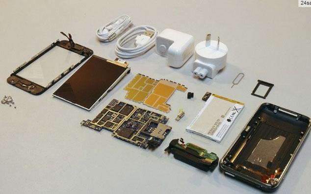 iPhone 4S lại phát nổ khi đang sạc
