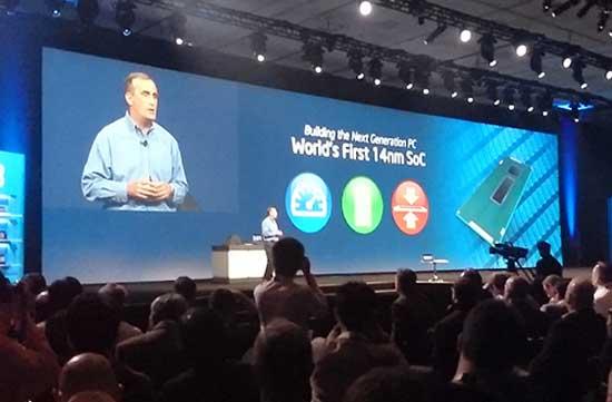 Intel ra mắt loạt chip mới tại IDF 2013