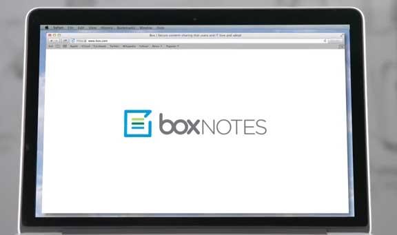 Box ra mắt dịch vụ biên tập tài liệu trực tuyến Box Notes