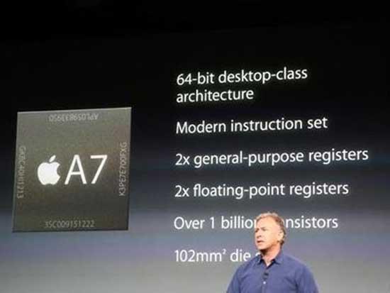 Những điều cơ bản về CPU A7 của Apple