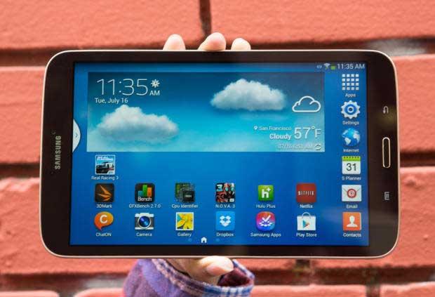 Galaxy Tab 3 được hỗ trợ đa tài khoản người dùng