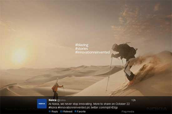 Nokia tổ chức sự kiện ngày 22/10, có thể ra Lumia 1520