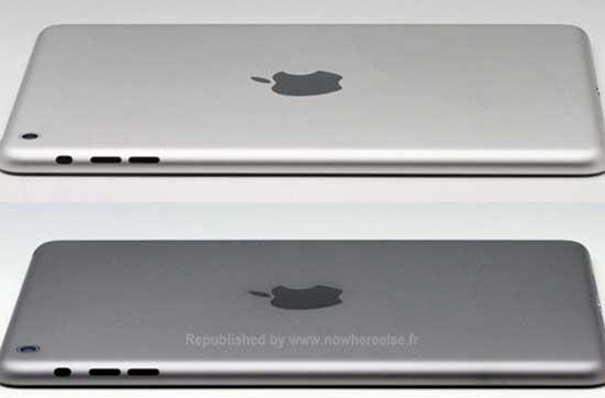 iPad Mini 2 sẽ có thêm vỏ màu xám