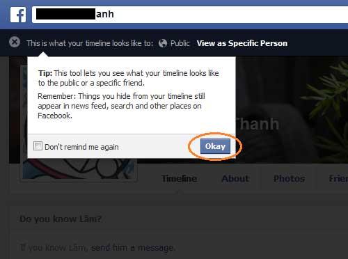 Xem tường Facebook của mình từ một góc nhìn khác