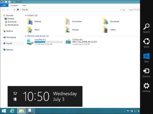 Cách tối ưu Windows 8.1 cho máy tính truyền thống