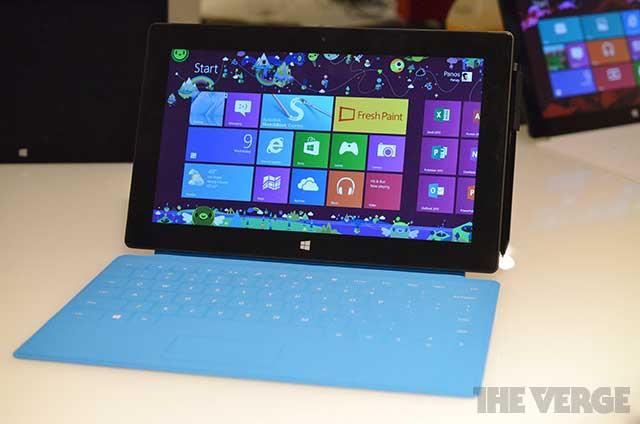 """Microsoft Surface 2 vẫn duy trì giá bán cao """"ngất ngưởng"""""""