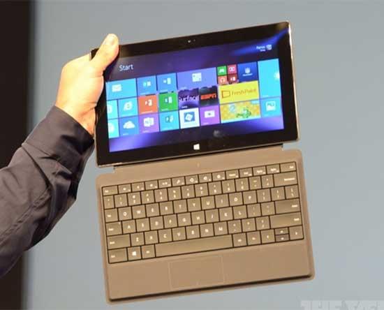 Loạt phụ kiện cho Surface thế hệ 2 của Microsoft