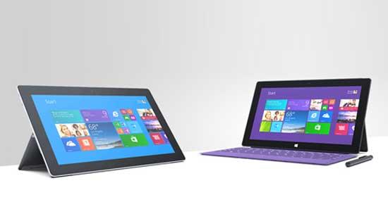 Microsoft Surface Pro 2 và Surface 2 trình làng