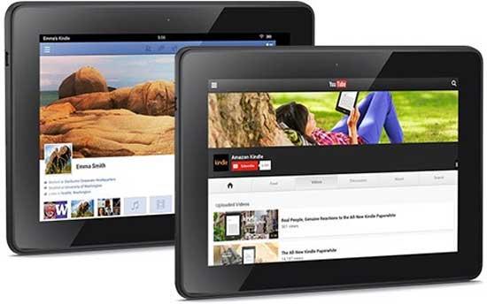 Amazon ra mắt Kindle Fire HD 2013 với giá siêu rẻ