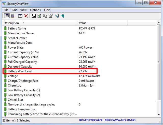 Làm sao để biết pin laptop sắp hỏng?