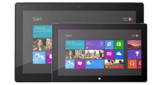 Surface Mini màn hình 7,5 inch có thể ra mắt đầu năm sau