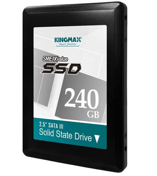 Kingmax công bố ổ cứng SSD SME Xvalue mới