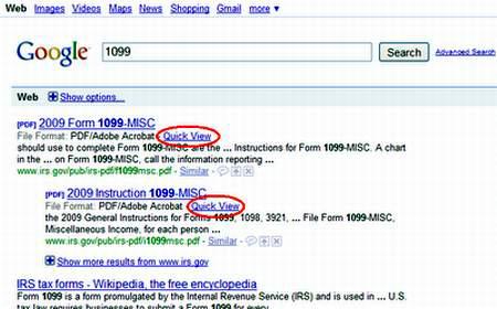 Google thêm định dạng PDF vào kết quả tìm kiếm Google-View