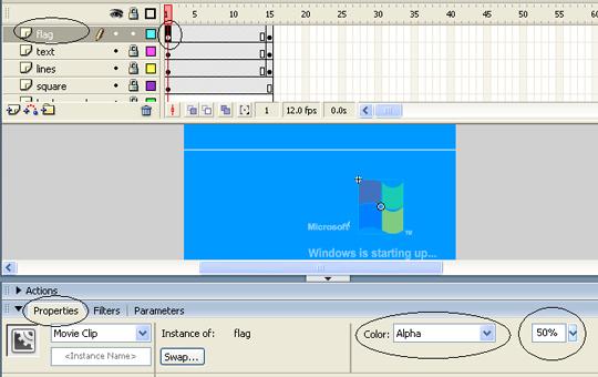 Flash - Mô phỏng quá trình khởi động windows (P3)