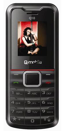 Q Mobile Q10 8 loại dế giá rẻ nhất hiện nay