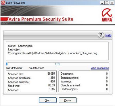 Bản quyền miễn phí 9 tháng gói bảo mật Avira Security Suite