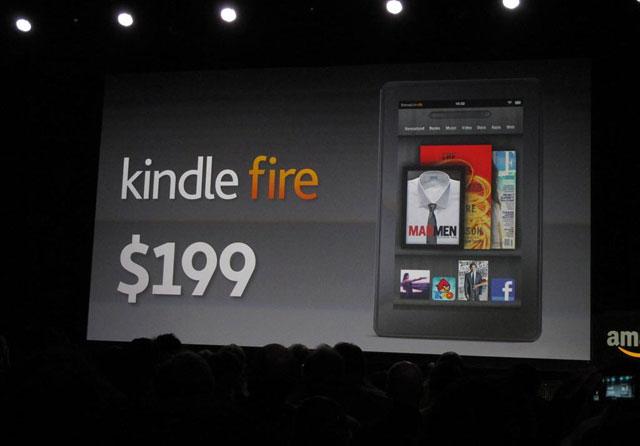 Gần 100.000 lệnh đặt hàng Kindle Fire sau 24 tiếng