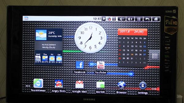 Android TV Box xem tivi với phong cách mới