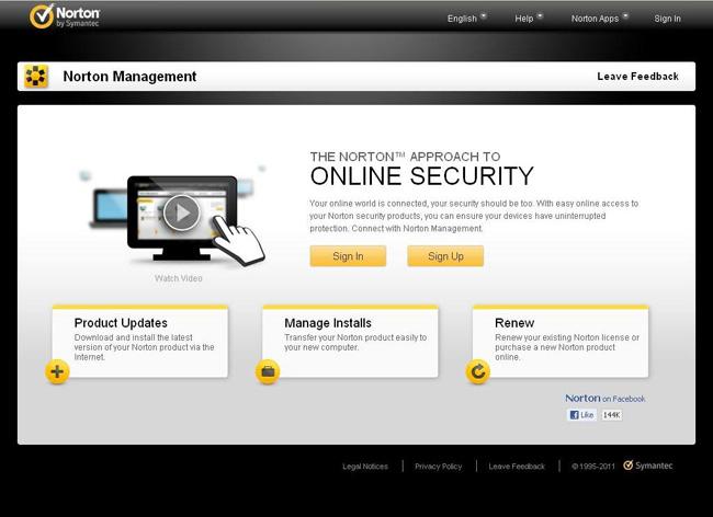 Tải miễn phí phần mềm bảo mật Norton 360 v6.0