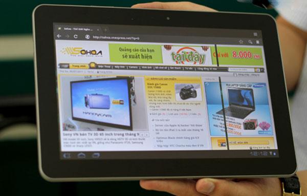 Chỉ có khoảng 3,4 triệu máy tính bảng chạy Android Honeycomb