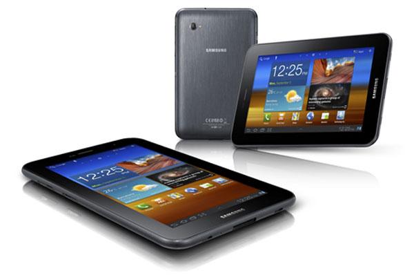 Galaxy Tab 7 Plus bán ngày 13/11 giá 400 USD