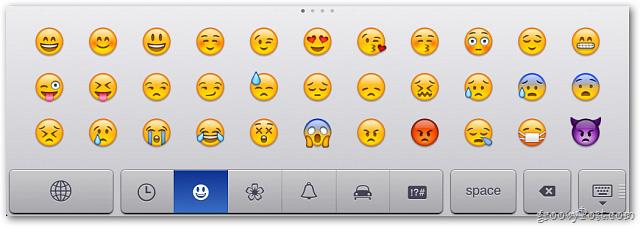 Kích hoạt và sử dụng chế độ Emoji Keyboard trong iOS 5