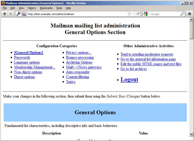 Cài đặt và cấu hình Mailman (với Postfix) trên Debian Squeeze
