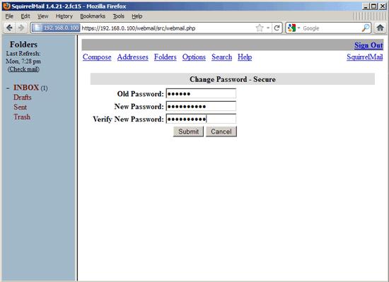 Ảo hóa người dùng và tên miền với Postfix, Courier, MySQL và SquirrelMail