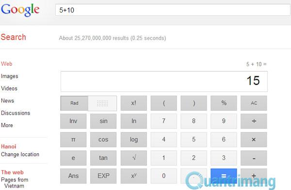 10 lệnh tìm kiếm đặc biệt trên Google