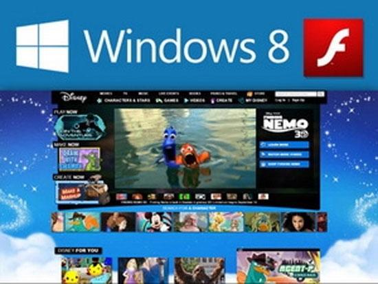 Microsoft tung ra bản vá lỗi Flash trong Windows 8