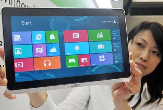 """Microsoft: """"Windows 8 muốn thành công phải có nhiều ứng dụng"""""""