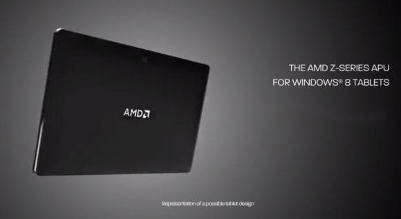 AMD giới thiệu vi xử lý APU Z-60 dành cho máy tính bảng Windows 8