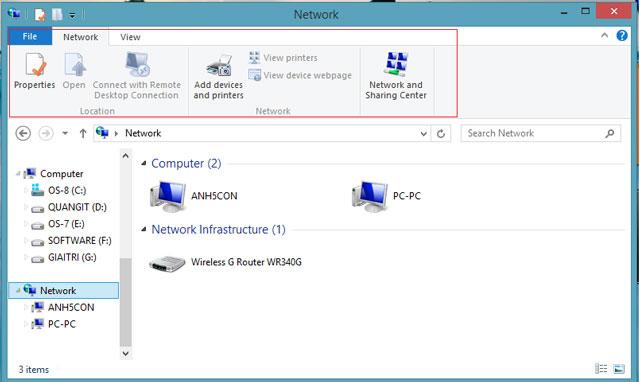 Sự lột xác của Windows Explorer trong Windows 8