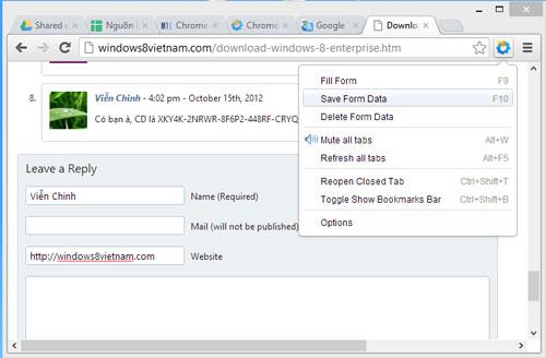 Bổ sung một số tính năng cơ bản cho Google Chrome