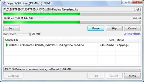 Mẹo tăng tốc sao chép dữ liệu lên USB và ổ cứng