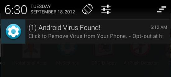 Ngăn chặn thông báo quảng cáo trên Android
